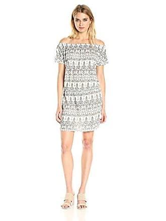 Joie Womens Danyale Dress, Porcelain/Anthracite, XXS