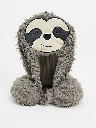Typo Typo sloth hooded neck pillow-Multi