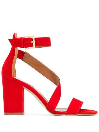 PARIS TEXAS heeled sandals - Red