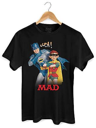 DC Comics Camiseta Batman e MAD