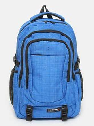 SWISSBRAND Mochila con Cuadrícula Jaspeada<br>37 x 47 x 14 cm<br>Azul Rey