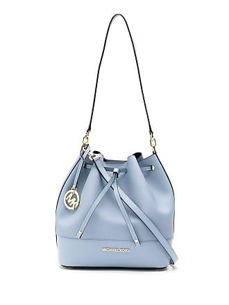 Michael Michael Kors Bolsa saco de couro - Azul