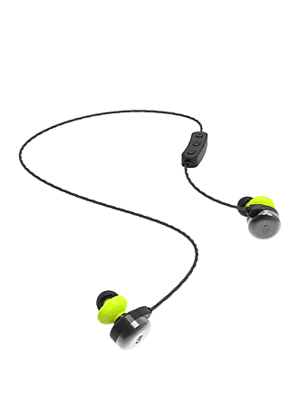Candywirez Black Wireless Kevlar Ear Buds