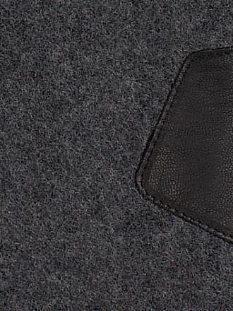 UGG Graue UGG Handschuhe Fabric And Leather Glove