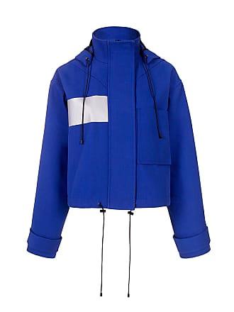 être cécile Cropped Jacket Prussian Blue