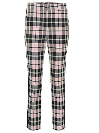 Veronica Beard Gemini checked cotton-blend pants