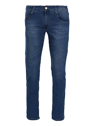 Dyjoris Calça Jeans Masculina Reta Dyjoris