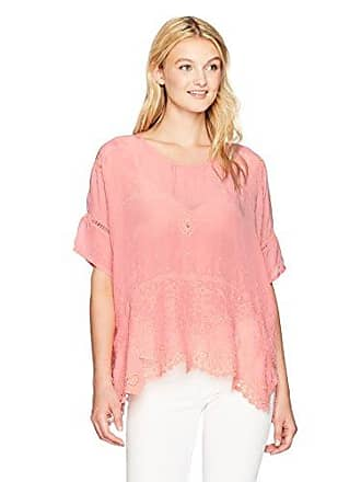 Johnny Was Womens Princess Top, Coral Sunset, S