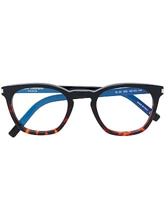 Saint Laurent Eyewear Óculos SL30 - Marrom