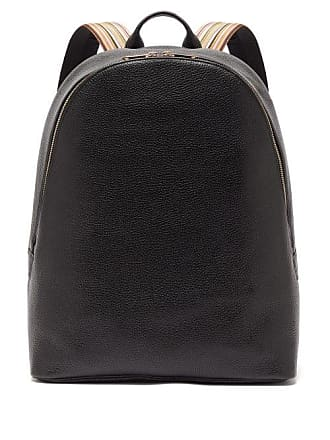 fc3094116 Paul Smith Artist Stripe Grained Leather Backpack - Mens - Black