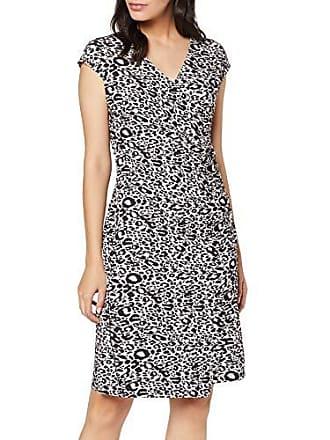 06b9577b83f361 Cartoon Damen 8708/7011 Kleid, Schwarz (Rosé/Black 4896), Herstellergröße