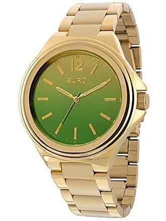 927a9bd5ceddb Euro Relogio Euro Feminino Analogico Premium Eu2035yah 4v - Dourado