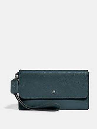 Coach Carteira Triple Small Wallet Coach