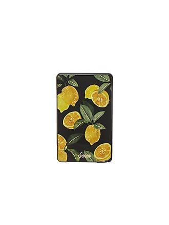 Sonix Lemon Zest Portable iPhone Charger in Black
