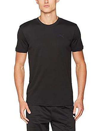 65c9f3bfd2 Puma Active Cree Tee 1P Packed, Vêtement de Corps de Sport Homme, Noir (