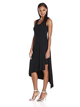 Karen Kane Womens Stevie Tank Dress, Black, L