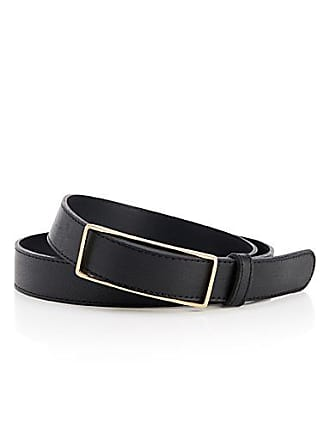 Simons Modern rectangular buckle belt