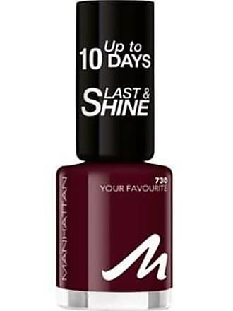 Manhattan Nails Last & Shine Nail Polish No. 740 Dangerous Attraction 8 ml