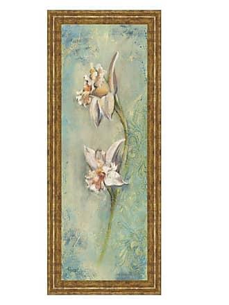 Classy Art Floral XII Framed Wall Art - 18W x 42H in. - 1398