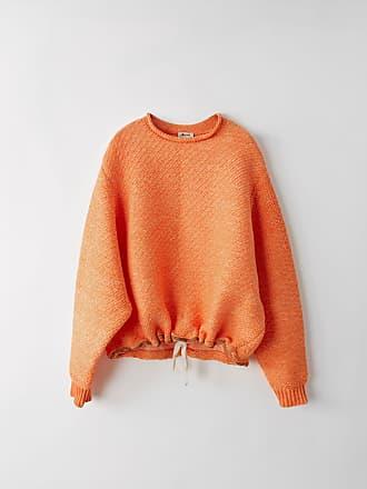 Acne Studios FN-MN-KNIT000069 Orange Chunky sweater