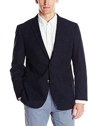 U.S.Polo Association Mens Cotton Sport Coat, GLE4404J Blue, 42 Long