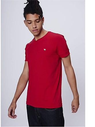Damyller Camiseta College Básica Tam: PP/Cor: VERMELHO