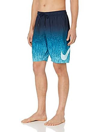 ae472840c9 Nike Swim Mens Rush Ombre Breaker 9 Volley Short Swim Trunk, Obsidian,  Medium