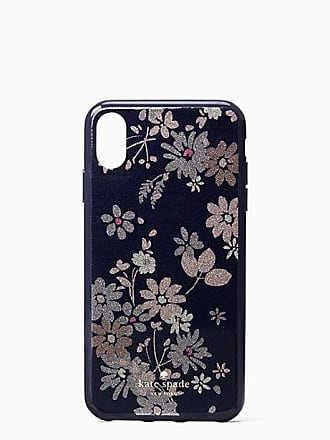 Kate Spade New York Glitter Petite Posy Iphone X Max Case, Blue