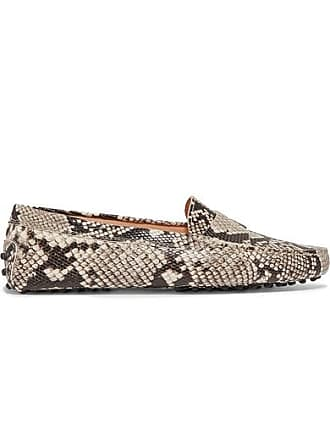 4846c9d300a87 Tod's Gommino Snake-effect Leather Loafers - Snake print