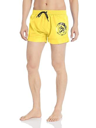 00dc868fef Diesel Mens BMBX-Sandy 2.017 SW Boxer Short Swim Trunks Light/Yellow Medium