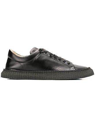 Jil Sander classic low-top sneakers - Black