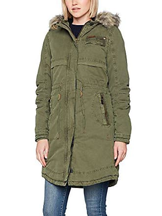 Garcia I70101, Parka Femme, Vert (Olive 2302), 38 (Taille Fabricant 3e7a65a935d