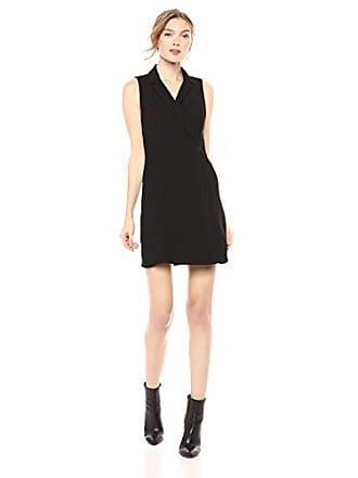 BCBGeneration Womens Blazer Dress, Black, 4