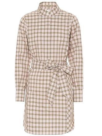 50cca065707 Burberry Robe chemise en coton à carreaux