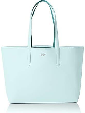 458f3c1238a Lacoste femme Nf2142aa Sac porte epaule Bleu (Clearwater Blue)