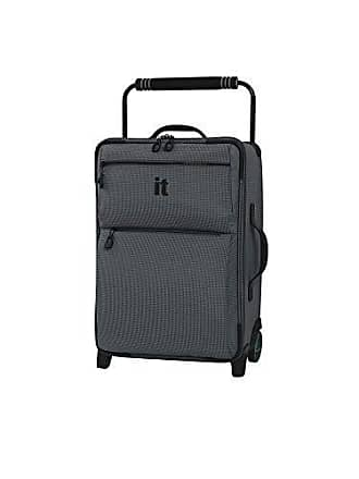 IT Luggage IT Luggage 21.8 Worlds Lightest Los Angeles 2 Wheel Carry On, Charcoal Grey