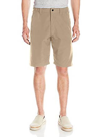 Wrangler Authentics Mens Side Elastic Utility Short, Desert Sand, 38