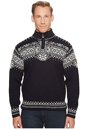 Dale of Norway Dale 125th Anniversary (C-Navy/Off-White/Smoke) Mens Sweater