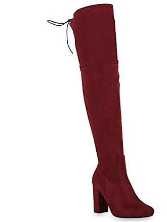 259f666855dda8 Stiefelparadies Damen Schuhe Chelsea Boots Wildleder-Optik Stiefeletten  Leder 147568 Hellbraun Basic 36 Flandell