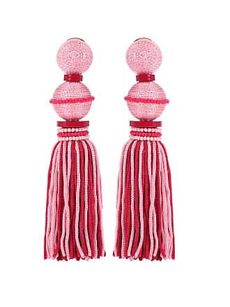 Oscar De La Renta Exclusive to mytheresa.com - Ball Tassel silk earrings