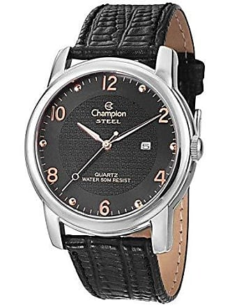 Champion Relógio Champion Leather Masculino Analógico CA21160T