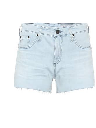 AG - Adriano Goldschmied Hailey high-rise denim shorts