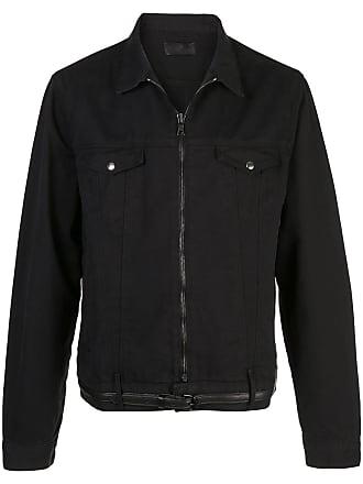 Rta Jaqueta jeans 111 com cinto - Preto