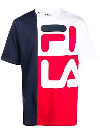 Fila colour block T-shirt - Blue