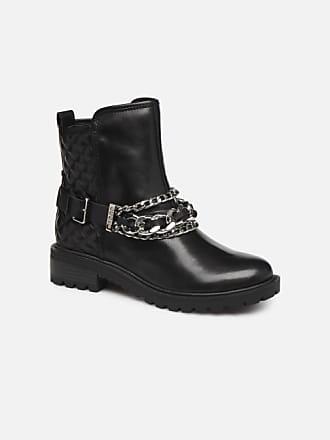 b0a2f6122b77c8 Guess FL7HOLLEA10 - Boots en enkellaarsjes voor Dames / Zwart