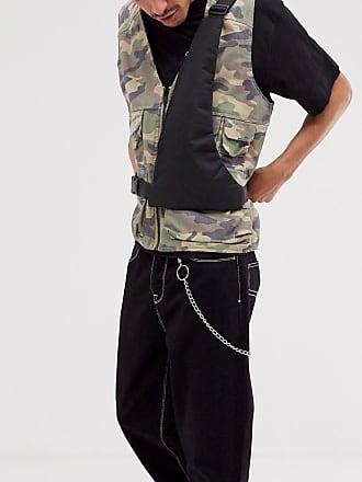 7X SVNX cross body harness bag-Black