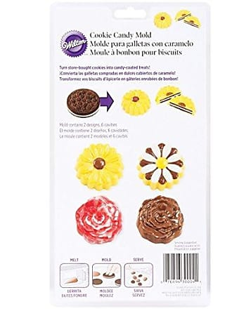 Wilton Daisy/Rose Cookie Candy Mold