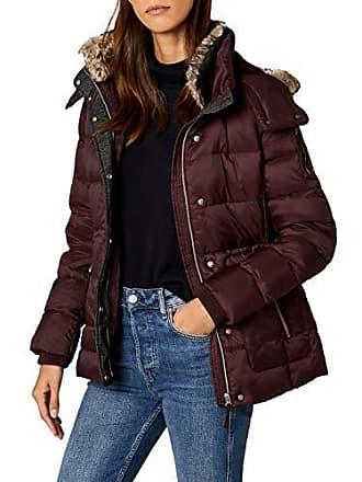 3c16777547c01 Esprit 087EE1G011 - Blouson - Femme - Rouge (Bordeaux Red 600) - FR
