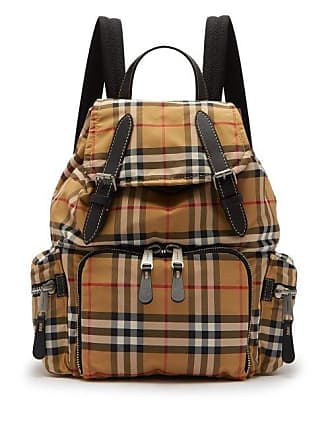 f9cde52bacf1 Burberry Vintage Check Backpack - Mens - Tan Multi