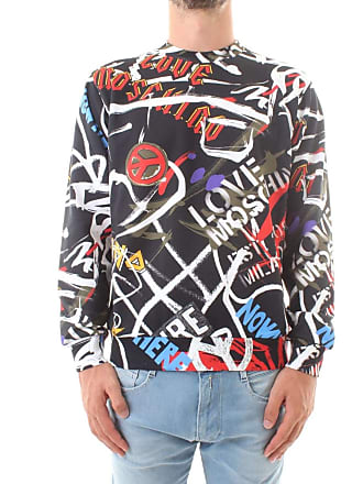 Love Moschino M 6 470 00 M 3906 sweat-shirts Homme Noir 7bd2b76991b4